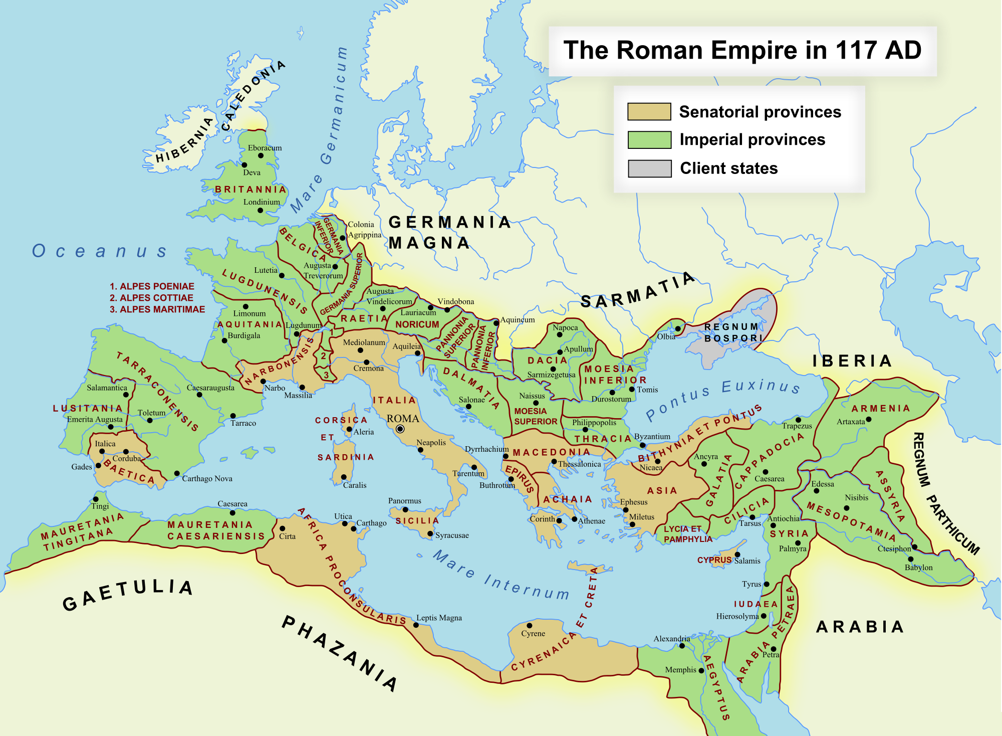 Mapping the languages of the roman empire peter kirby romanempire 117ad gumiabroncs Choice Image